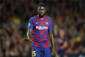برشلونة يتخذ قرارا حاسما بشأن مصير أومتيتي مع الفريق