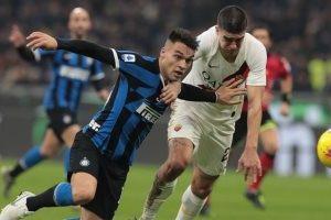 موعد مباراة إنتر ميلان وروما في الدوري الإيطالي والقنوات الناقلة للقاء