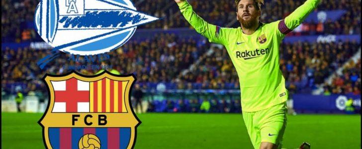موعد مباراة برشلونة وألافيس في الدوري الإسباني والقنوات الناقلة للقاء