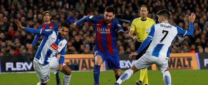 موعد مباراة برشلونة وإسبانيول في الدوري الإسباني والقنوات الناقلة للقاء