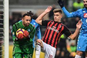 موعد مباراة ميلان ونابولي في الدوري الإيطالي والقنوات الناقلة للقاء