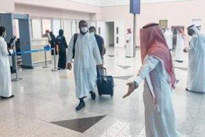 وصول الدفعة الأولى من حجاج بيت الله الحرام إلى مطار جدة