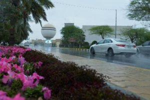 «الأرصاد» أمطار رعدية على جميع مناطق المملكة