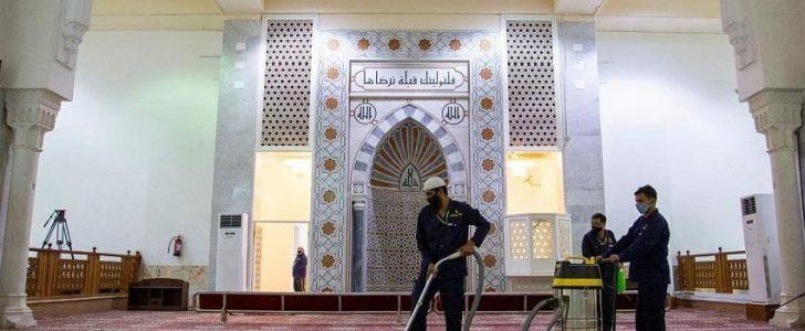 وزارة الشؤون الإسلامية تبدأ في تطوير مسجد نمرة لاستقبال ضيوف الرحمن