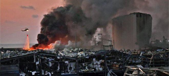 ارتفاع حصيلة الضحايا جراء انفجار مرفأ بيروت إلى 100 قتيل