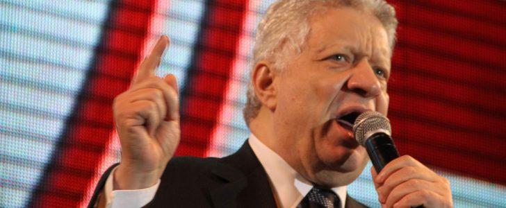"""مرتضى منصور يتوعد رئيس اللجنة الأولمبية ويسبه: """"بلطجي وهسجنه"""""""