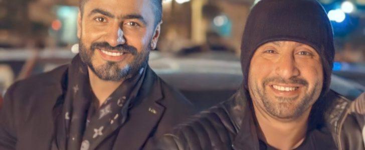 تعليق كوميدي من هنيدي على أزمة تامر حسني وأحمد السقا