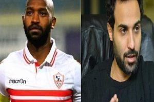 موقف محرج لأحمد فهمي في مباراة الأهلي بسبب شيكابالا