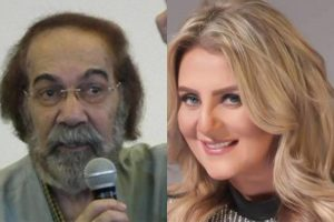 رانيا محمود ياسين تبكي على الهواء: والدي لم يكن مصابا بألزهايمر
