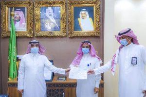 مستشفى أبو عريش يكرم قسم الرعاية الصحية المنزلية