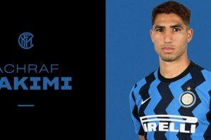 أشرف حكيمي: نستطيع الفوز بالدوري الإيطالي
