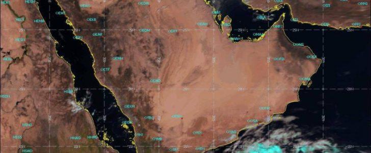 الأرصاد الجوية توضح لا تأثير لإعصار جاتي على المملكة