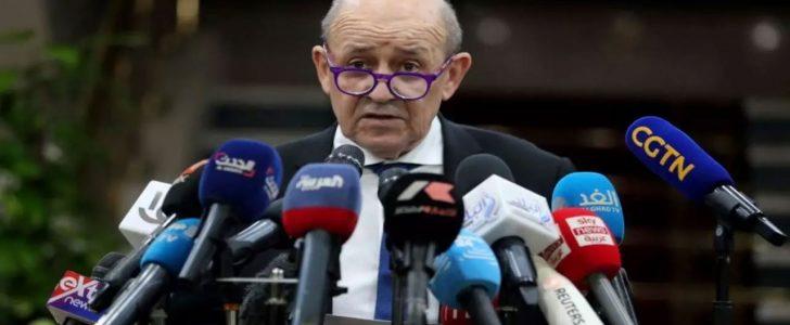 لودريان من القاهرة: فرنسا تحترم وتدين دعوات المقاطعة