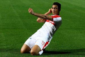مصطفى محمد: نصيحة طارق حامد سر هدفي الأول في مباراة الرجاء