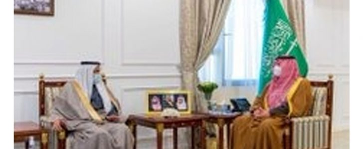 أمير الحدود الشمالية يستقبل وزير الصحة ويشيد بتوفير لقاح كورونا