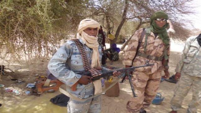 حركة أنصار الدين تعلن مسؤوليتها عن إستهداف قاعدة للقوات الفرنسية