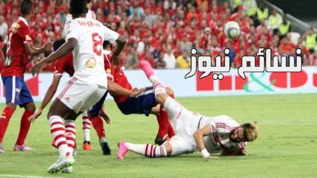 نتيجةمباراة الاهلى والزمالك اليوم وملخص أهداف ختام موقعة الدورى المصرى بفوز الأحمر بهدفين