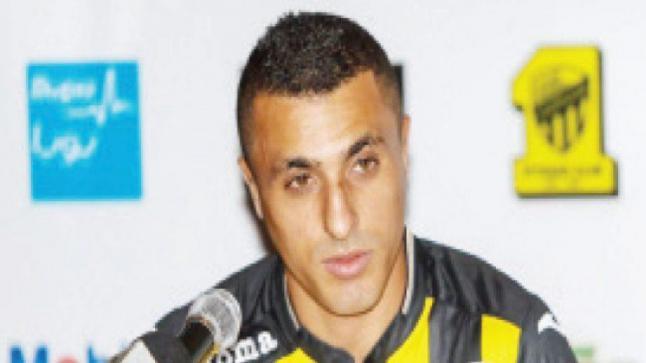 أحمد العكايشي يسبب قلقا لإدارة نادي الإتحاد السعودي