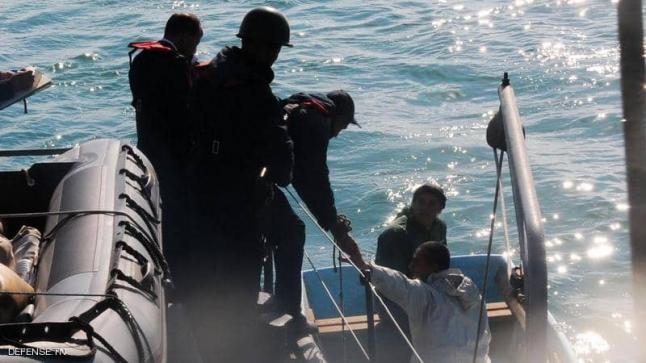 تونس تساعد في انقاذ 100 مهاجر قبل الغرق بالبحر المتوسط