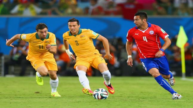 نتيجة مباراة تشيلي واستراليا اليوم الأحد 25-06-2017 تغطية كأس القارات 2017 المجموعة الثانية وملخص اهداف التعادل المثير