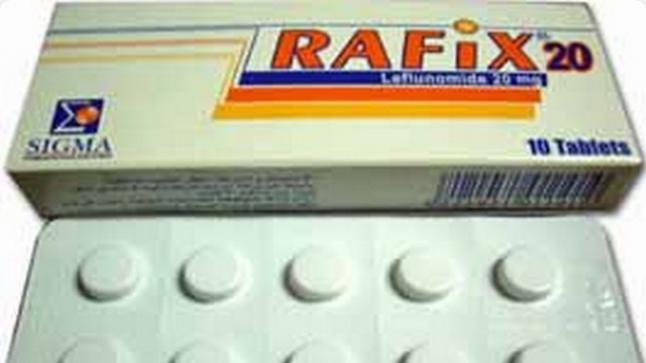 نشرة أقراص رافيكس Rafix يعالج التهاب المفاصل