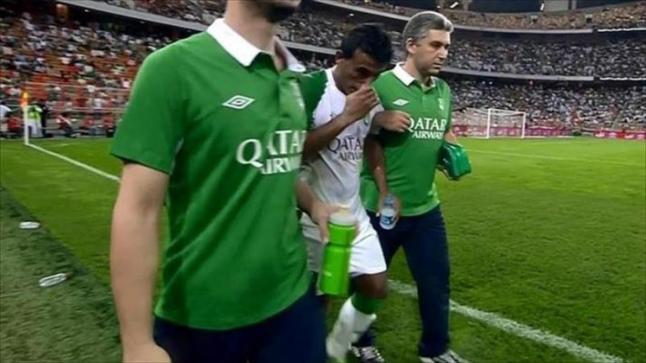 الظهير الأيسر لفريق الأهلي محمد عبد الشافي يتغيب عن مباراة الديربي أمام الاتحاد