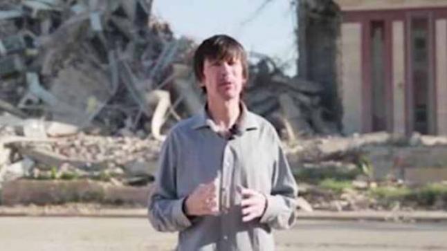 جون كانتلي يظهر في تسجيل جديد في مدينة الموصل