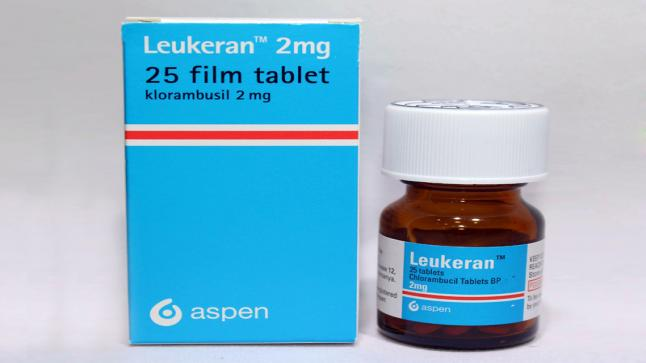 نشرة أقراص ليوكيران Leukeran يعالج الخلايا السرطانية