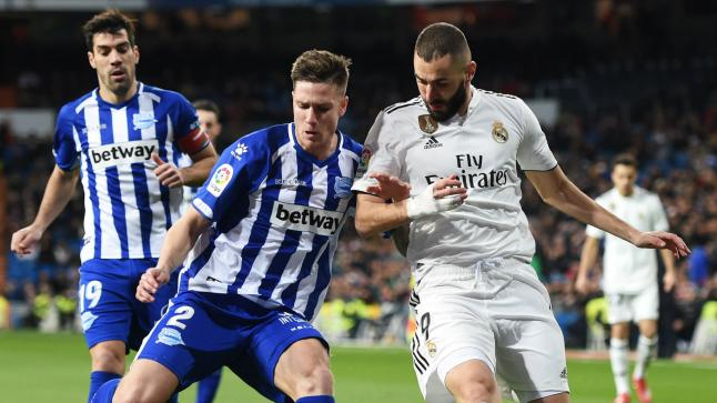 موعد مباراة ريال مدريد وألافيس في الدوري الإسباني والقنوات الناقلة للقاء
