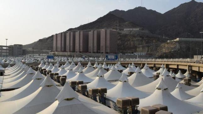 6 أبراج و70 مخيماً في منى هذا العام لاستيعاب الحجاج