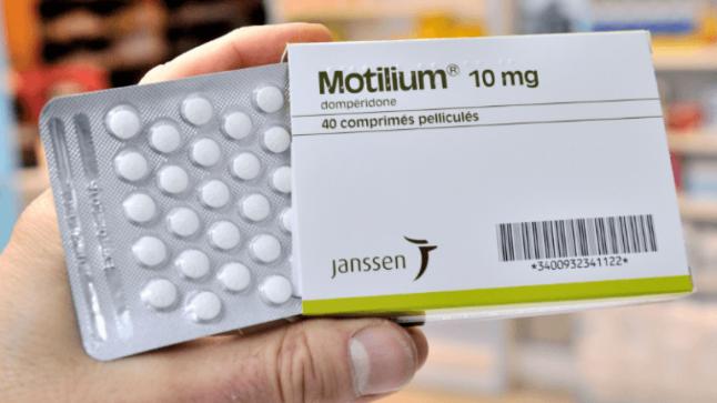 نشرة أقراص موتيليوم Motliium مضاد للقيء