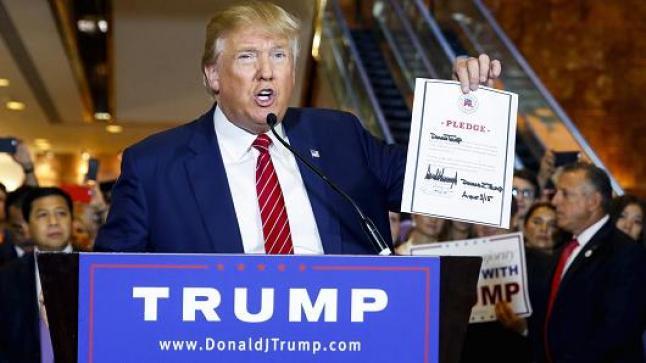 دونالد ترامب يوقع عن وثيقة لخروج بلاده من المعاهدة العابرة للتجارة الحرة TPP