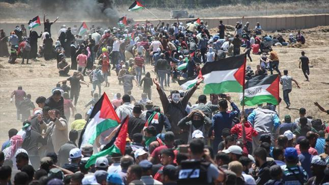 وزارة الصحة في غزة تكشف عن استشهاد 123 فلسطينيا وإصابة 13 ألف في مسيرات العودة