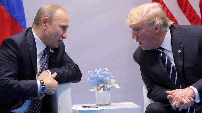 الكرملين ينفي تحديد موعد لعقد قمة روسية أمريكية بين فلاديمير بوتين ودونالد ترامب