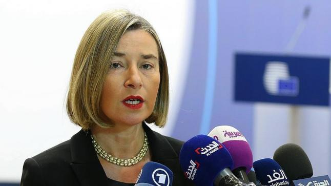 موغريني تؤكد إلتزام الدول الموقعة على الاتفاق النووي مع إيران ببنود الاتفاق