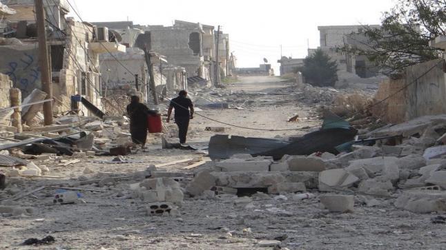 الصليب الأحمر الدولي تكشف عن وصول الأوضاع الإنسانية في الغوطة الشرقية إلى حالة حرجة