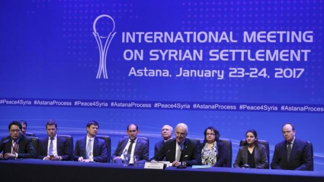 وصول بعض وفود المشاركين في اجتماعات أستانا، وشكوك حول مشاركة المعارضة السورية