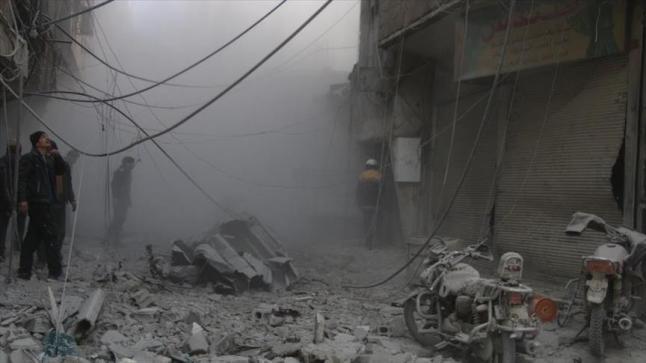 الأمم المتحدة تدعو إلى هدنة في سوريا لمدة شهر للسماح بإيصال المساعدات للمدنيين المحاصرين