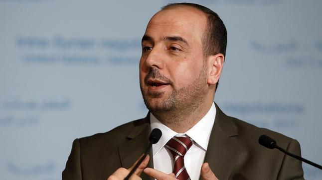 رئيس هيئة التفاوض بالمعارضة السورية يعلن رفض مخرجات مؤتمر سوتشي للحوار السوري