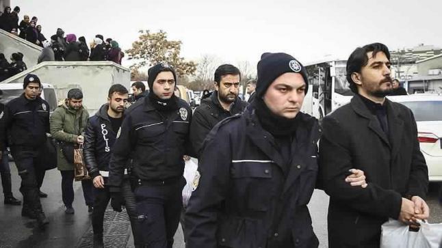 قوات الأمن التركي تعتقل خمسة عناصر من تنظيم فتح الله جولن أثناء هروبهم لليونان