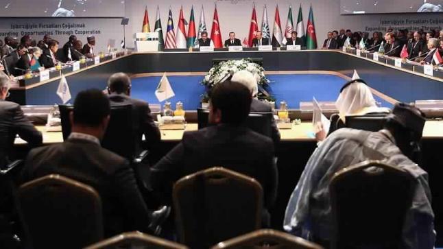 الأمين العام لمجموعة دول الثماني الإسلامية يعتبر تركيا قدوة لباقي دول المجموعة
