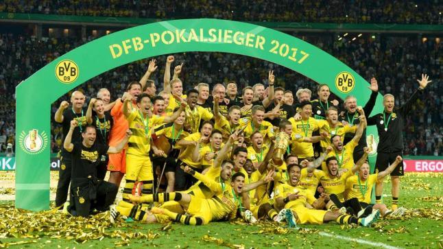 دورتموند يحرز لقب كأس ألمانيا للمرة الرابعة في تاريخه