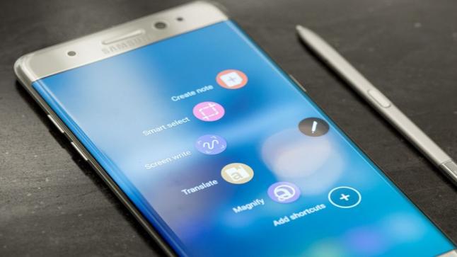 شركة سامسونج تقوم بالكشف عن تمكنها من إسترجاع 80 % من وحدات Galaxy Note 7