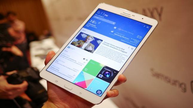 شركة سامسونج تكشف تقارير حديثة عن الجهاز اللوحي الجديد Galaxy Tab S3