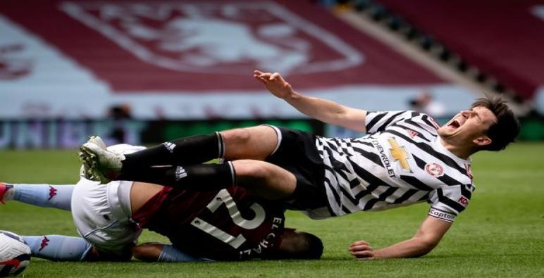 قائد مانشستر يونايد هاري ماجواير قد يغيب عن نهائي الدوري الأوروبي أمام فياريال