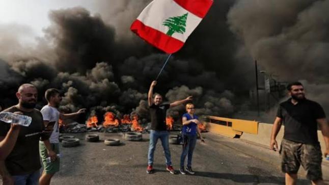 قتلى وجرحى في احتجاجات بيروت جراء إطلاق رصاص