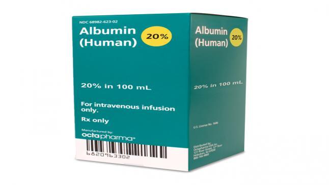 امبولات البومين Albumin